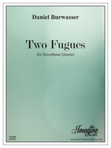 Two Fugues (Saxophone Quartet)(download)