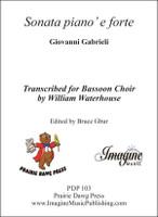 Sonata pian' e forte (Bassoon choir)
