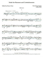 Suite for Bassoon and Contrabassoon