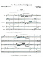 Two Pieces for Woodwind Quintet (Aubade and Passacaille)