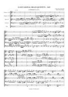 16 BRASS PIECES FOR 5 VOICES (BRASS QUINTET VERSION) (download)