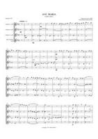 AVE MARIA (1852) (clarinet quartet)