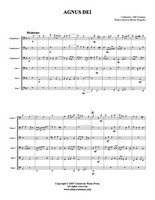 Agnus Dei (Tuba Ensemble) (Download)
