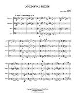 3 Medieval Pieces (tuba quartet) (download)