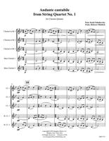 Andante Cantabile (from String Quartet No. 1) (download)