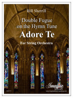 Double Fugue on the Hymn Tune Adore Te (download)