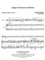 Adagio for Bassoon & Piano (download)