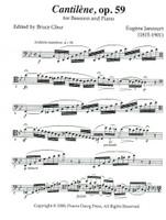 Cantilene, op. 59 (download)