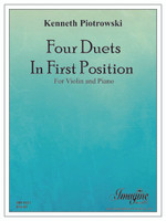 Four Duets in First Position for Violin & Piano