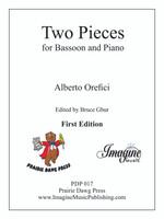 Two Pieces for Bassoon and Piano: Elegia e Scherzo (download)