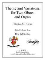 Theme and Variations for Two Oboes and Organ