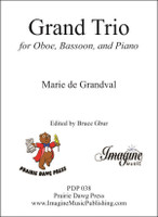 Grand Trio for Oboe, Bassoon, and Piano (download)