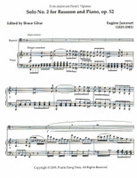 Solo No. 2 for Bassoon and Piano, op. 52 (download)