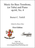 Music for Bass Trombone (or Tuba) and Piano (op.64, No.4) (download)