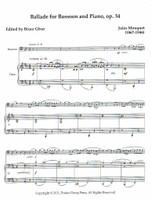 Ballade for Bassoon, op. 34