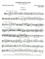 Andante and Gavotte (download)