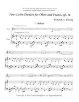 Four Latin Dances Op. 14 (download)