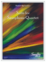 Suite for Saxophone Quartet (download)