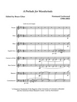 A Prelude for Woodwinds