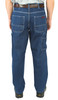 12oz Washed Ringspun Denim Dungaree Relaxed Fit
