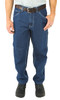 12oz Washed Ringspun Denim Dungaree Traditional Fit