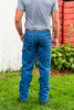 14oz Denim Stone Washed Dungaree Traditional Fit
