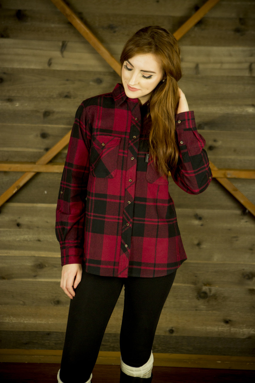 Flannel Ladies Unlined
