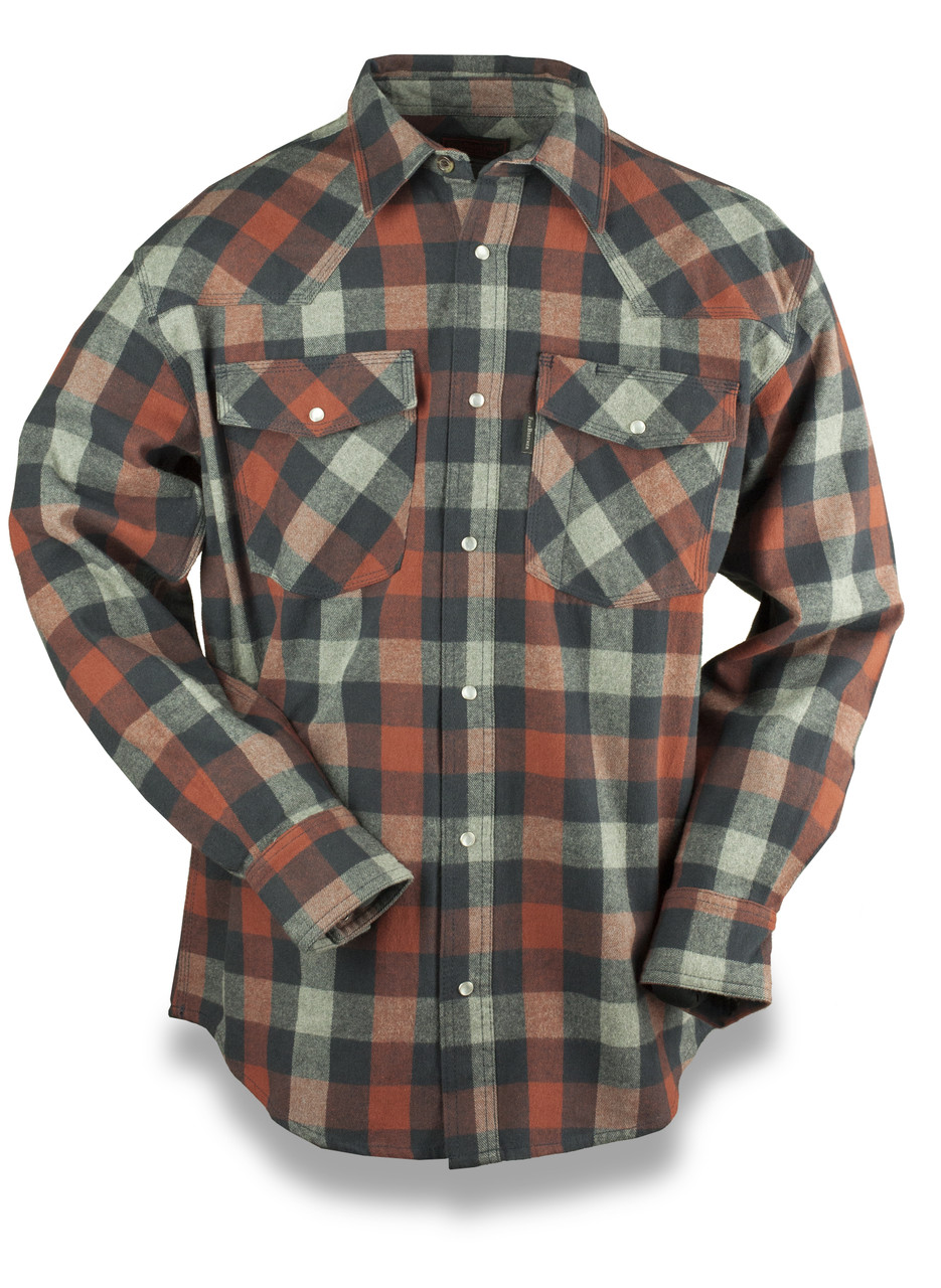 Flannel Mens Unlined