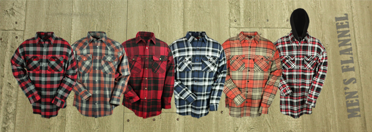 Flannel Mens