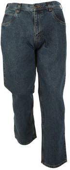 14oz Flannel Lined Stone Washed Five Pocket Jean
