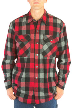 9oz Snap Front Flannel 2020