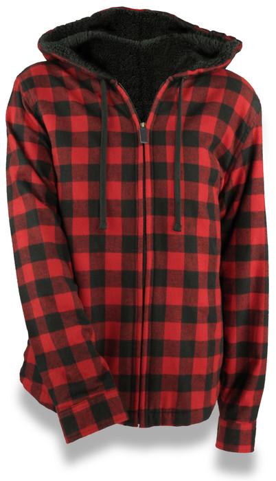 Ladies Legendary Mink Lined Hooded Jacket w/ Zip