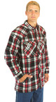 Quilt Lined Snap 9oz Flannel Jacket