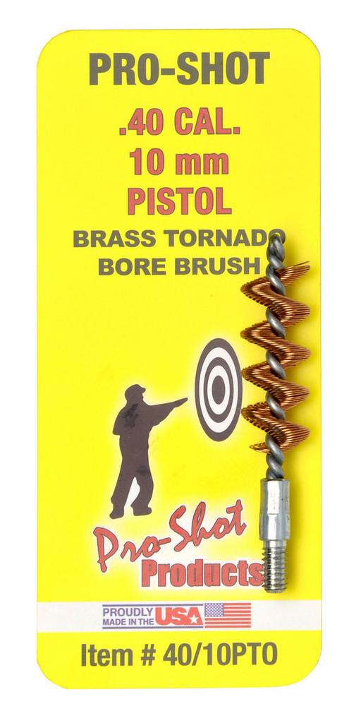 Pro-Shot Tornado Bronze Bore Brush