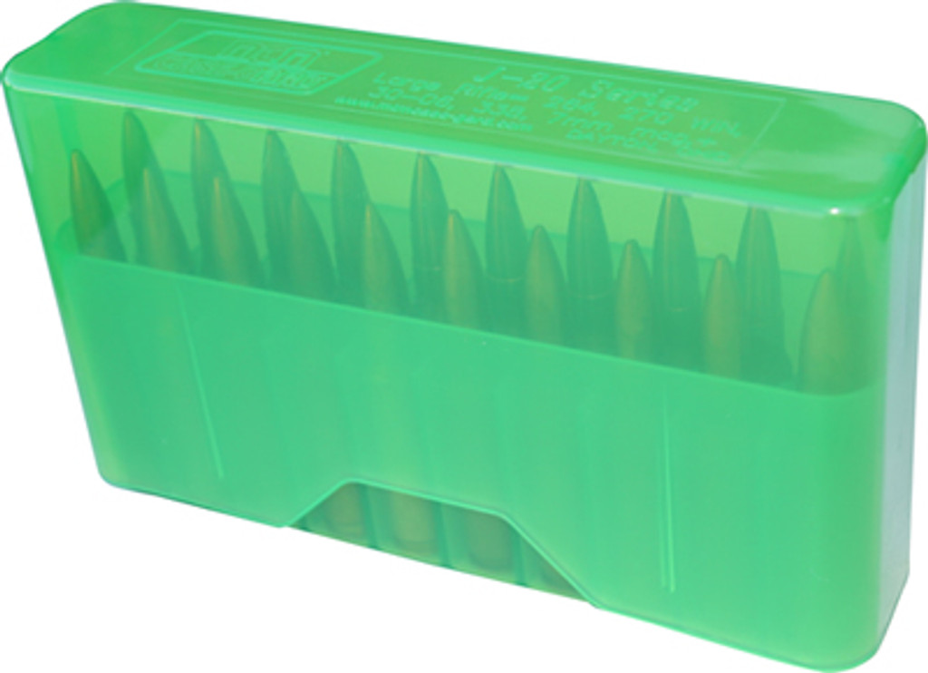 MTM 20 Round Slip-Top Rifle Ammo Box