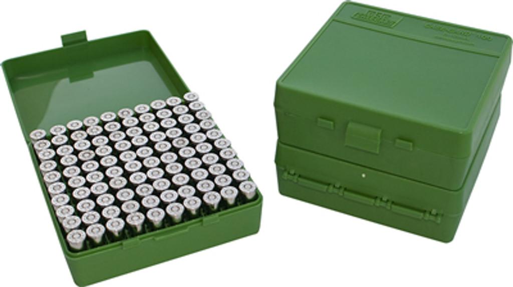 MTM P-100 Pistol 100 Round Ammo Boxes