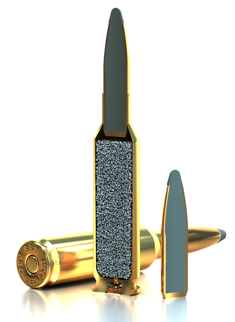 Sellier & Bellot 6.5 Creedmoor Rifle Ammunition