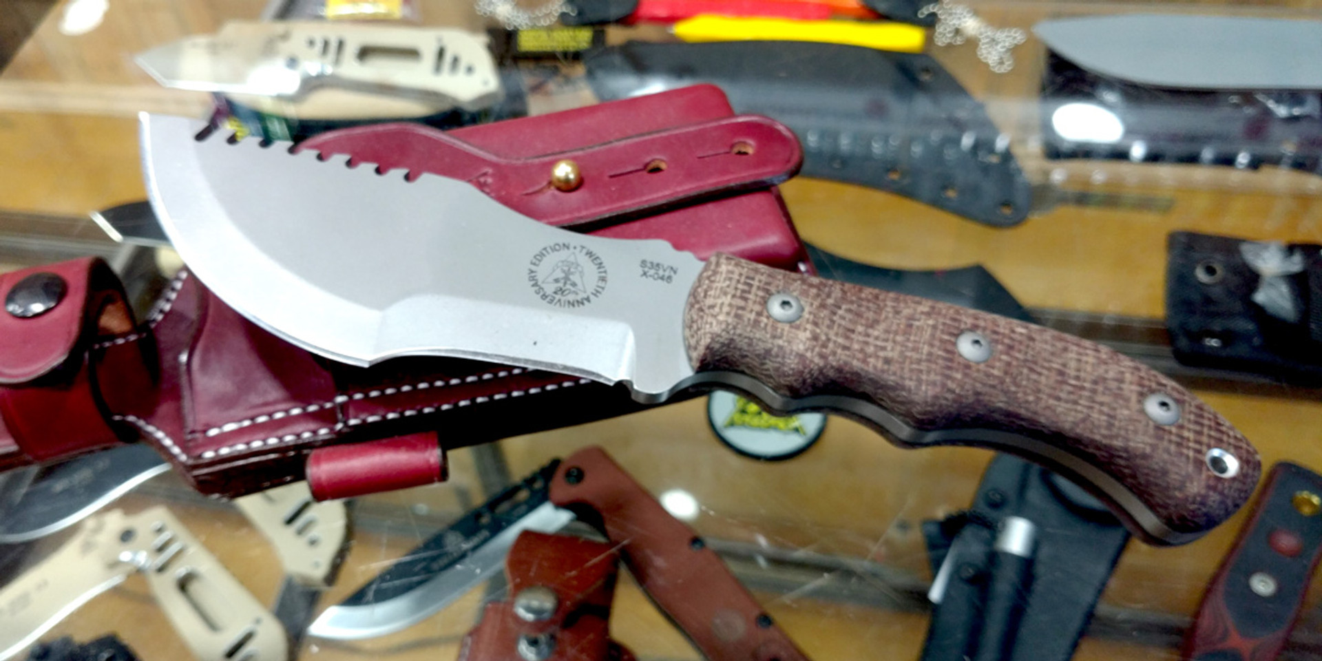 We're a TOPS Knives Authorized Retailer