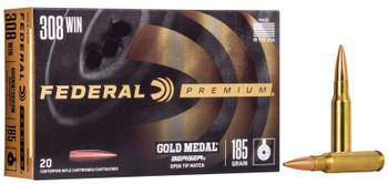 Federal Premium 308 Winchester 185 Grain
