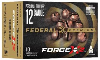 Federal Premium Force X2 00 Buckshot