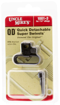 "Uncle Mike's 1-1/4"" QD Super Swivels for Bolt Action Rifles"