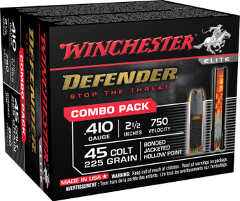 Winchester Defender Combo Pack 410 Bore 45 Long Colt