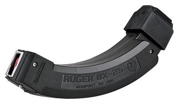 Ruger BX-25 Coupled Magazines, .22 LR, 25 Rounds, 2 per pack
