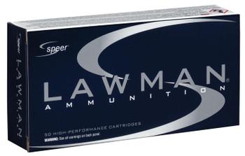 CCI Speer Lawman Ammunition .357 Sig