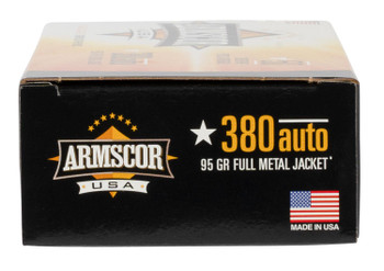 Armscor 380 ACP 95 Grain FMJ
