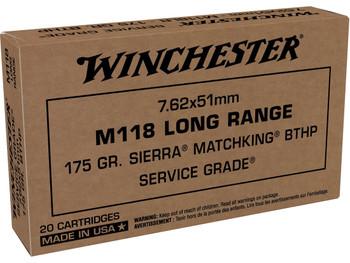 Winchester Service Grade M118 Long Range, .308 Win, 7.62x51mm