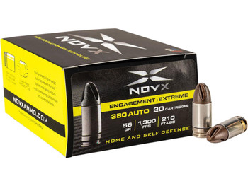 NovX Engagement Extreme Self Defense 380 ACP