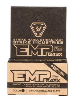 Strike Industries Glock 43X Enhanced Magazine Plate