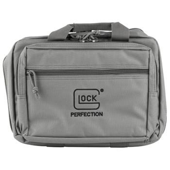 Glock Double Pistol Range Bag Gray