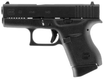 "Glock 43, 9mm Luger, 3.4"" Barrel, 6+1 Capacity"